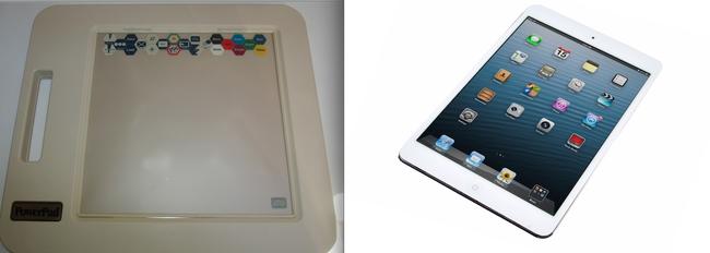 7.) An odd Sketch Pad VS an iPad.