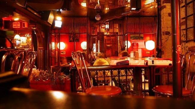 8.) Safe House: This bar in Wisconsin doesn't only look like a bar that secret agent types might frequent, it also operates like one. If you wanna get in, you'll need the password!