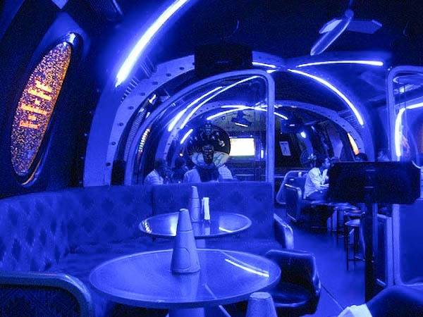10.) NASA Pub: Like Space? Like booze? Well this bar in Bangalore is from your dreams.