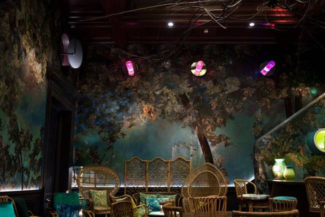 9.) The Glade By Sketch: Go to this bar in London if you're looking for a place that makes you feel like you're in a magical forest where you can also purchase alcohol.