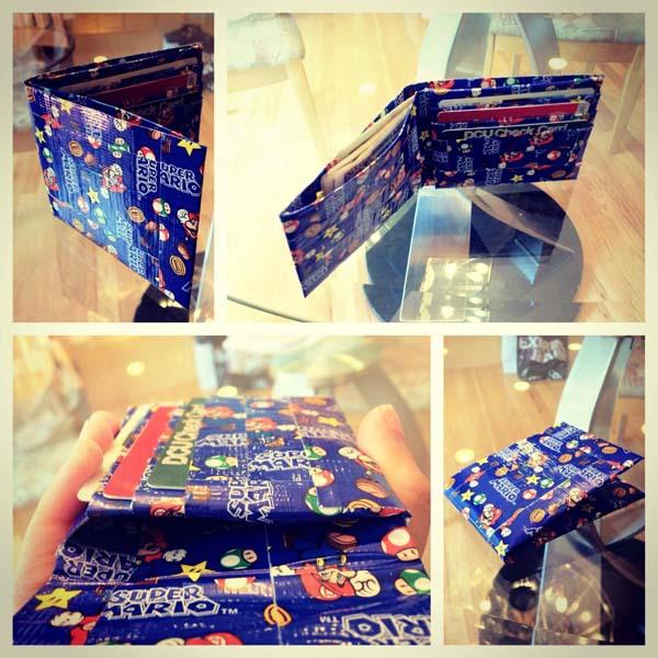 10.) Create a wallet with a cool pattern.