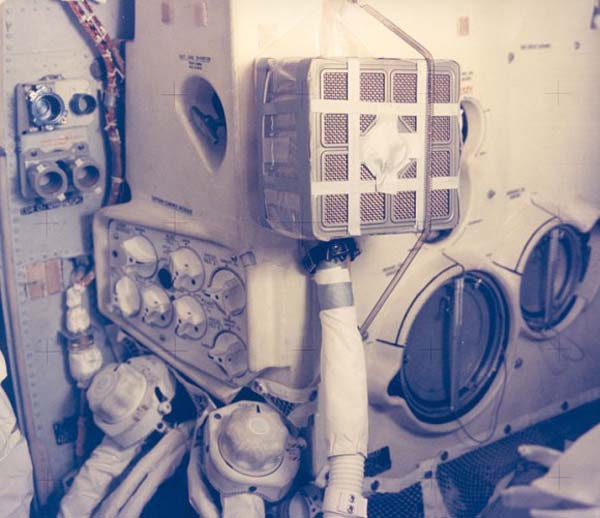 14.) Fix a module on the Apollo 13 (apparently).