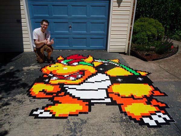 15.) Create an awesome gaming mosiac.
