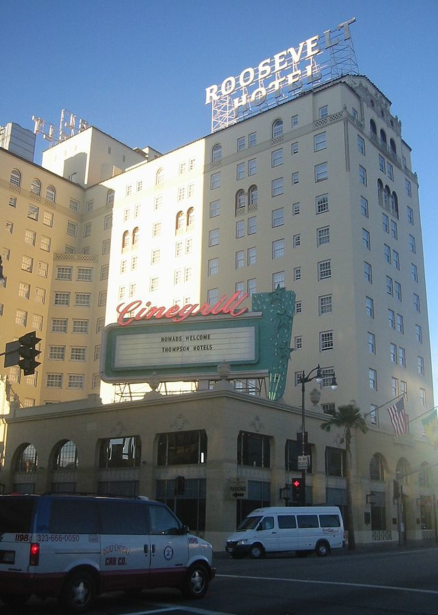 3.) It is said that Marilyn Monroe is still staying in a room at the Hollywood Roosevelt Hotel, 52 years after her death. There is even a suite named after her there you can rent out and presumably hang out with her (probably still beautiful) ghost.