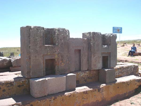7.) Interlocking Stones at Puma Punku: In Bolivia, there is a large temple complex that includes perfectly interlocking stones from the Inca civilization. In Inca traditions because it is believed to be the site where the world was created. This stonework is so precise, it's unknown how it was possibly built so long ago.