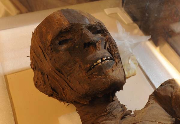 10.) Cocaine & Tobacco Mummy Residue: Residues from those drugs were found on Egyptian Mummies. There were no transoceanic contact between Africa and South America in ancient times, so how they got the drugs is a mystery.